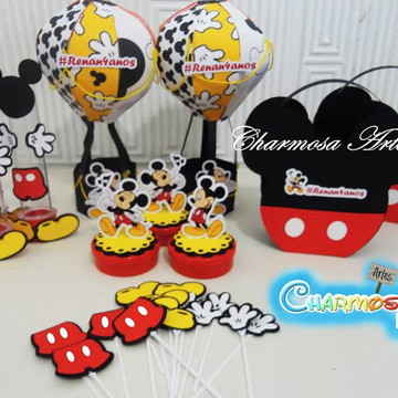 Kit festa personalizados tema Mickey