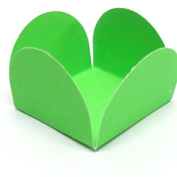 Forminha Pétala Verde