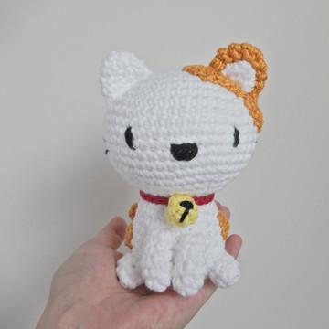 Gatinha Luna - linha algodão