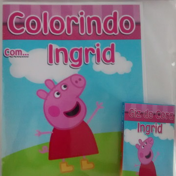 Kit de Colorir da Peppa Pig
