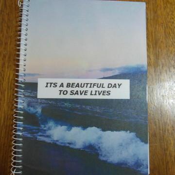Caderno Grey´s Anatomy universitario