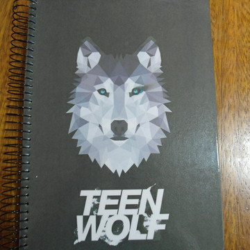 Caderno Teen Wolf universitario