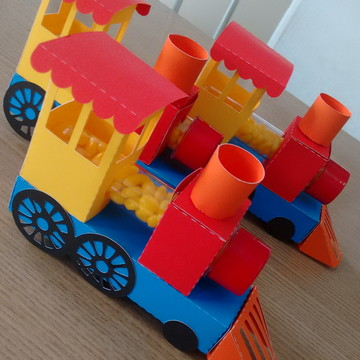 Tubete Trem Brinquedos Antigos