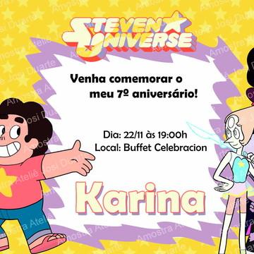Convite Steven Universo