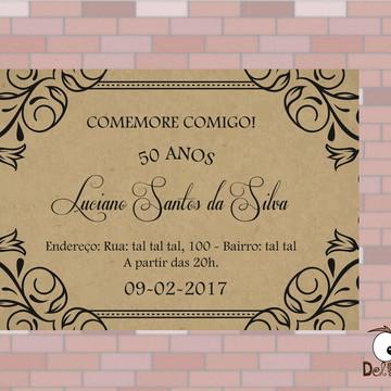 Arte - Convite de Aniversário