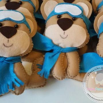 Kit Festa Balão - urso aviador