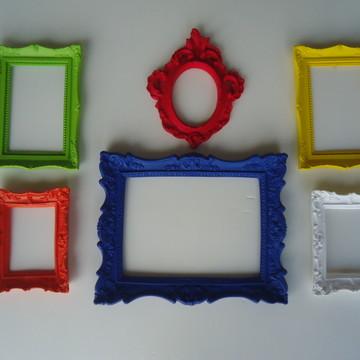 Molduras Coloridas para Fotos