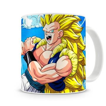 Caneca Dragon Ball Goku Super Sayajin