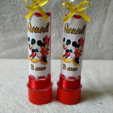 Tubetes Mickey e Minnie
