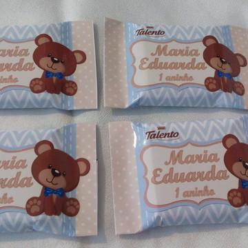 Chocolate Talento Personalizado Ursinho