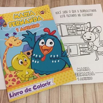 Livro de Colorir Galinha Pintadinha