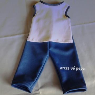 Uniforme escolar para baby alive
