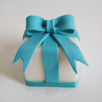 Sabonete Mini Bolo Decorado - Tiffany