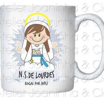 Caneca Nossa Senhora de Lourdes