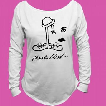 Camiseta Charlie Chaplin Canoa Longa 1