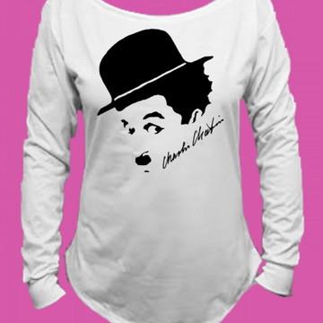 Camiseta Charlie Chaplin Canoa Longa 2