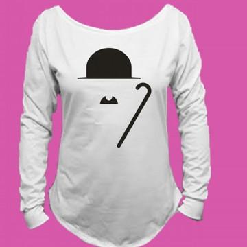 Camiseta Charlie Chaplin Canoa Longa 3