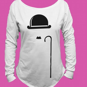 Camiseta Charlie Chaplin Canoa Longa 4