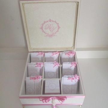 Caixa Kit toalete Rosa