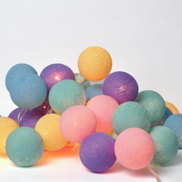 Cordão de luz 35 bolas Califórnia