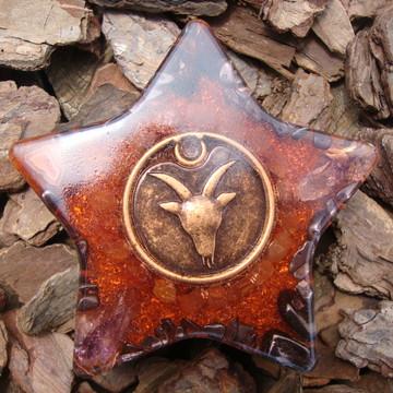Orgonite estrela signo de áries