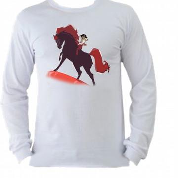 195418796b Camiseta Cavalo Fogo Manga Longa 2