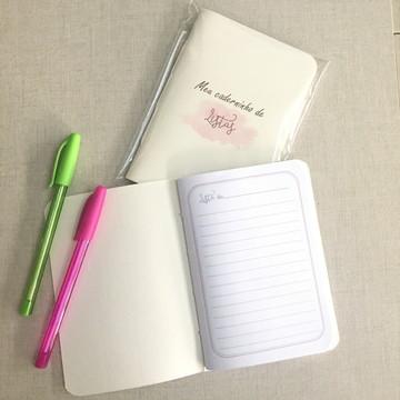 Caderninho de listas