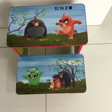 Escadinha Angry Birds o Filme