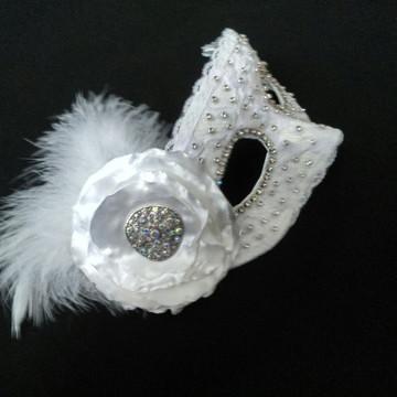 Mascara noiva veneziana strass