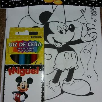 Kit desenho Mickey