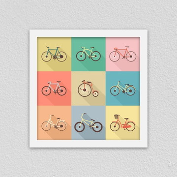 Quadro: Bicicletas