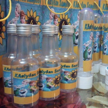 Kit personalizado frozen fever 100 itens