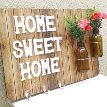 Cabideiro Home Sweet Home