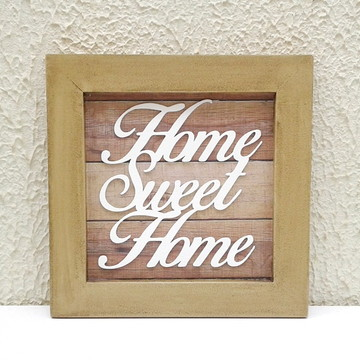 Quadrinho Home Sweet Home