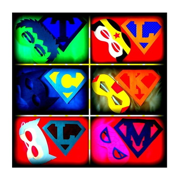 Kit Super Heróis personalizados