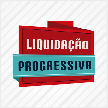 326563a5e Adesivo Vitrine Liquidacao Progressiva