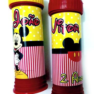 Bolha de Sabão Mickey