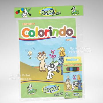 Kit Colorir Doki + Brindes
