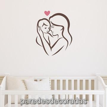 Adesivo Decorativo Mamãe e Filho