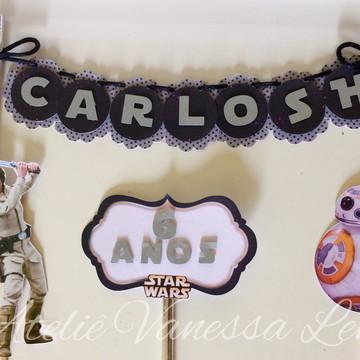 Topo de bolo - Star Wars
