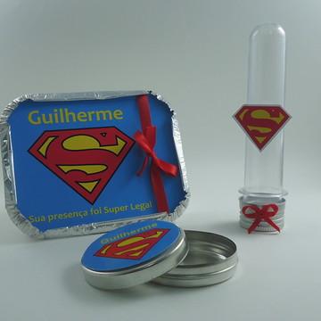 kit Festa Superman/ 60 itens