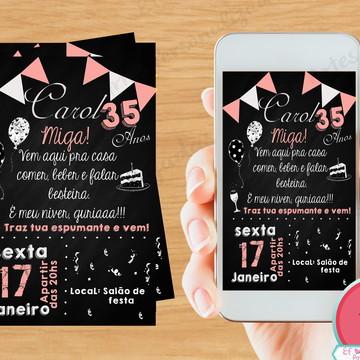 Convite 30 anos - Digital