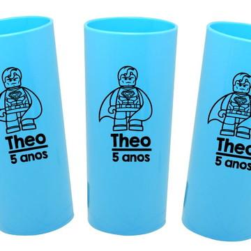 Copos Lego Super Heroi Lembrancinha