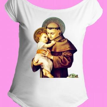 Camiseta Santos Católicos gola canoa 10
