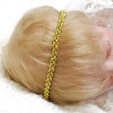Faixa BABY dourado