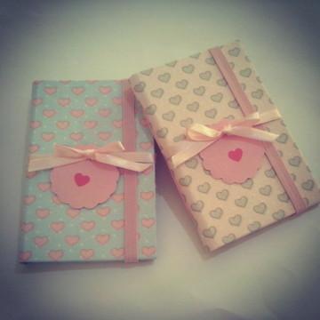 Mini caderninhos - Lembrancinha Menina