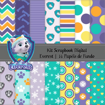 Kit Scrapbook Digital Everest