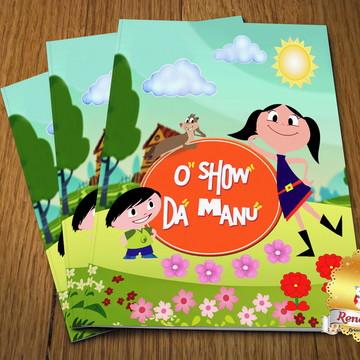 Revista Colorir Com giz Show da Luna