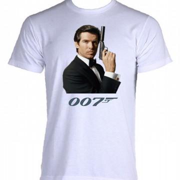 Camiseta 007 - James Bond - 01