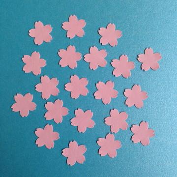Aplique Flores de Cerejeira Rosa